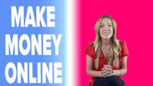 Ideas for Making Money Online